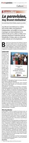 La Paravision, Guy Brunet, réalisateur - L'Anticapitaliste 397-210917.jpg